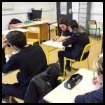 Atelier d'écriture avec les 4e