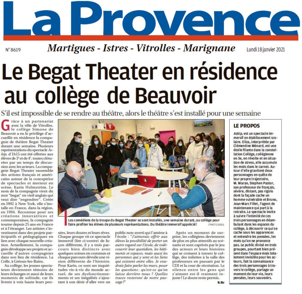 2021 1 18 BEGAT THEATER SIMONE DE BEAUVOIR