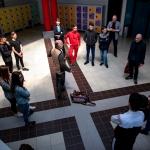 Résidence à Chateau-Arnoux avec Théâtre Durance