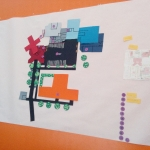 Création du plan du collège avec Karin Holmström