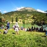 Lac de Sagnes à Thorame Basse, 16-17 juillet 2021